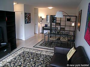 New York T2 logement location appartement - séjour (NY-14130) photo 2 sur 9