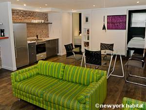 New York T3 appartement location vacances - séjour (NY-14141) photo 3 sur 4