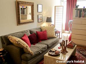 New York T2 appartement colocation - séjour (NY-14144) photo 9 sur 12