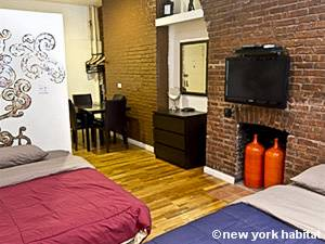 New York T2 logement location appartement - séjour (NY-14150) photo 3 sur 6