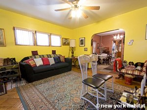 New York 3 Bedroom accommodation bed breakfast - living room (NY-14212) photo 1 of 8