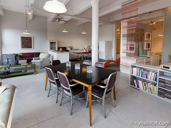 New york apartment studio loft apartment rental in for Loft in affitto new york