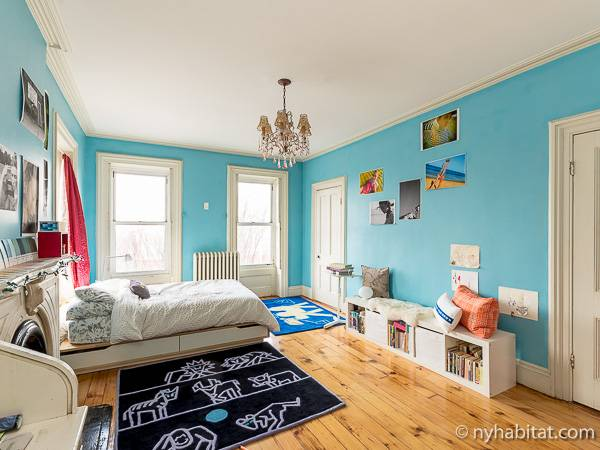 New York 3 Bedroom - Triplex accommodation - bedroom 2 (NY-14369) photo 3 of 8