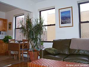 New York 1 Bedroom accommodation - living room (NY-14390) photo 3 of 7