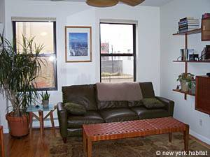 New York 1 Bedroom accommodation - living room (NY-14390) photo 2 of 7