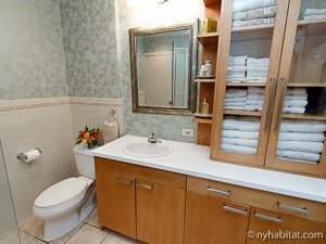 New York 2 Bedroom - Duplex accommodation - bathroom 1 (NY-14402) photo 3 of 3