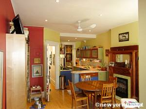 New York 2 Bedroom - Duplex accommodation bed breakfast - living room 1 (NY-14447) photo 4 of 4