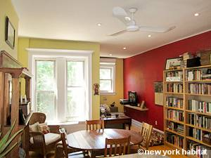 New York 2 Bedroom - Duplex accommodation bed breakfast - living room 1 (NY-14447) photo 1 of 4