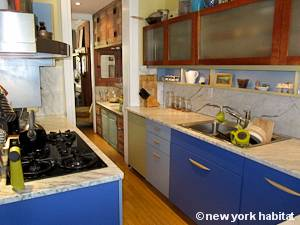New York 2 Bedroom - Duplex accommodation bed breakfast - kitchen (NY-14447) photo 2 of 4