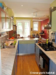 New York 2 Bedroom - Duplex accommodation bed breakfast - kitchen (NY-14447) photo 4 of 4