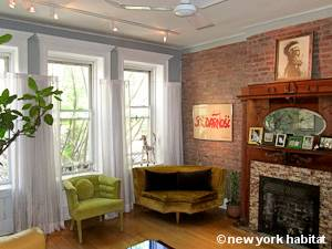 New York 2 Bedroom - Duplex accommodation bed breakfast - living room 2 (NY-14447) photo 3 of 6