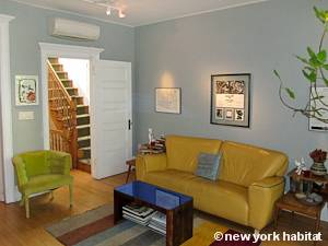 New York 2 Bedroom - Duplex accommodation bed breakfast - living room 2 (NY-14447) photo 2 of 6