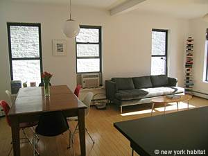 New York 4 Bedroom - Triplex accommodation - living room 1 (NY-14448) photo 1 of 5