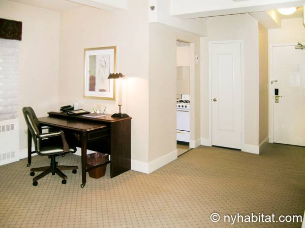 New York Studio accommodation - living room (NY-14520) photo 5 of 5