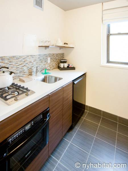 New York Studio accommodation - kitchen (NY-14520) photo 3 of 3