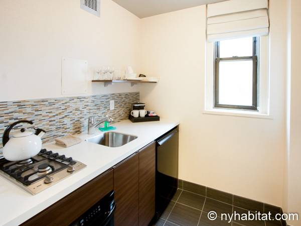 New York Studio accommodation - kitchen (NY-14520) photo 2 of 3