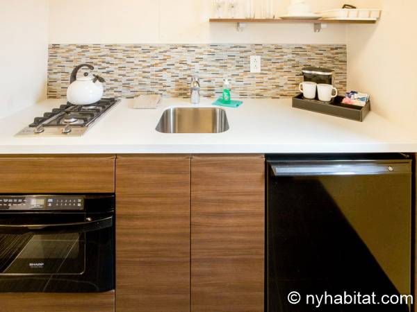 New York Studio accommodation - kitchen (NY-14520) photo 1 of 3