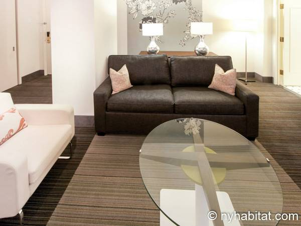 New York 1 Bedroom accommodation - living room (NY-14526) photo 2 of 4