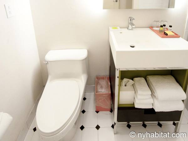 New York 1 Bedroom accommodation - bathroom (NY-14526) photo 2 of 4