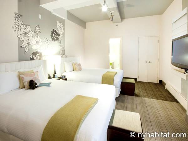 New York 1 Bedroom accommodation - bedroom (NY-14526) photo 1 of 5