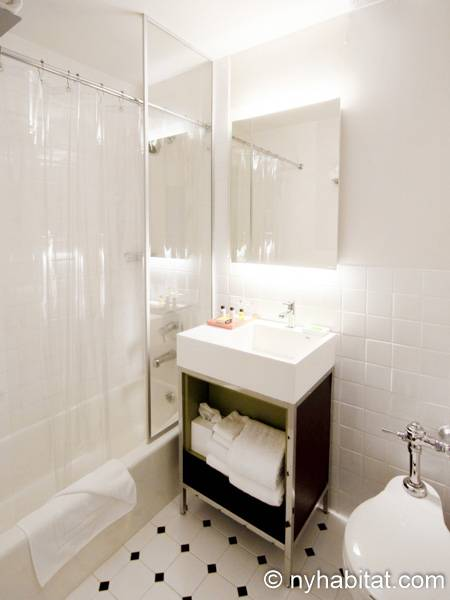 New York 1 Bedroom accommodation - bathroom (NY-14526) photo 3 of 4