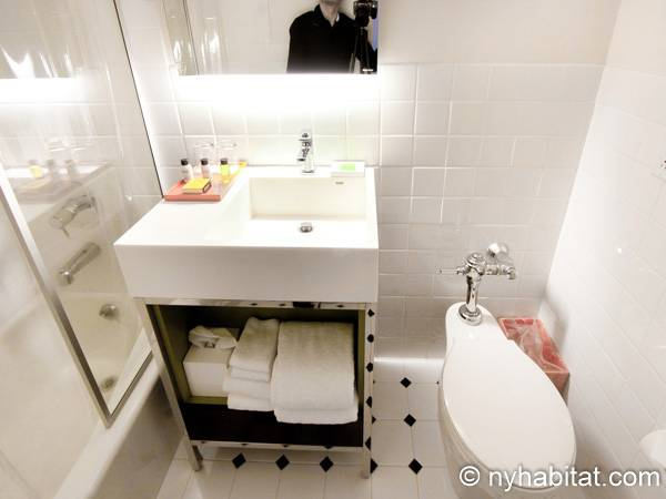 New York 1 Bedroom accommodation - bathroom (NY-14526) photo 4 of 4