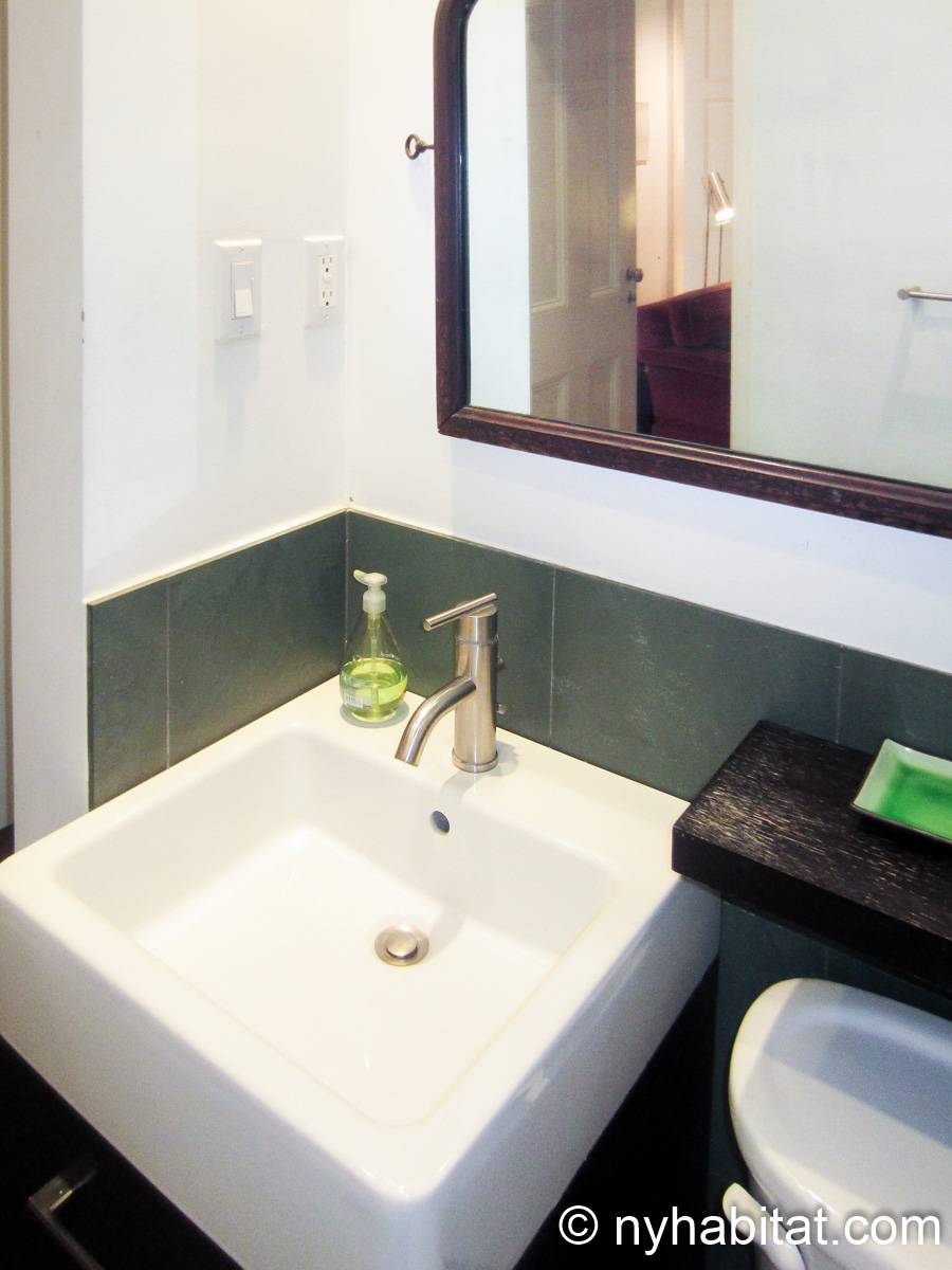 New York 1 Bedroom accommodation bed breakfast - bathroom (NY-14595) photo 3 of 4