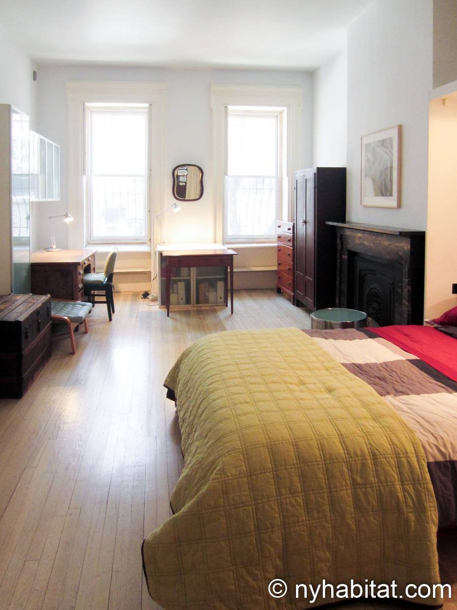New York 1 Bedroom accommodation bed breakfast - bedroom (NY-14595) photo 3 of 9