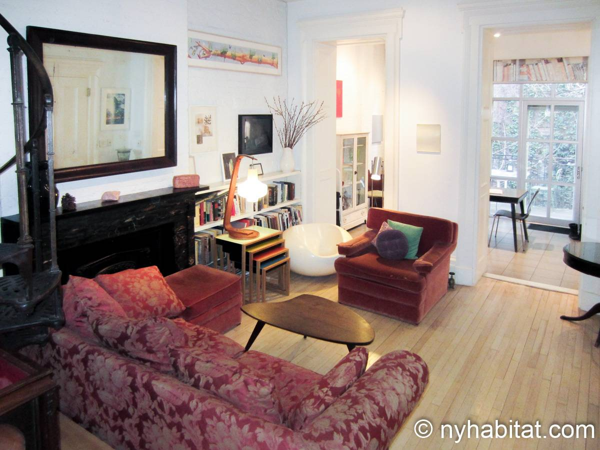 New York 1 Bedroom accommodation bed breakfast - Apartment reference NY-14595