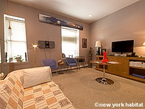 New York Studio accommodation - living room (NY-14638) photo 1 of 8
