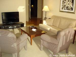 New York 2 Bedroom accommodation - living room (NY-14745) photo 5 of 12