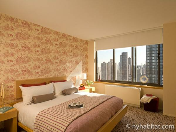 New York 2 Bedroom accommodation - bedroom 1 (NY-14745) photo 1 of 4