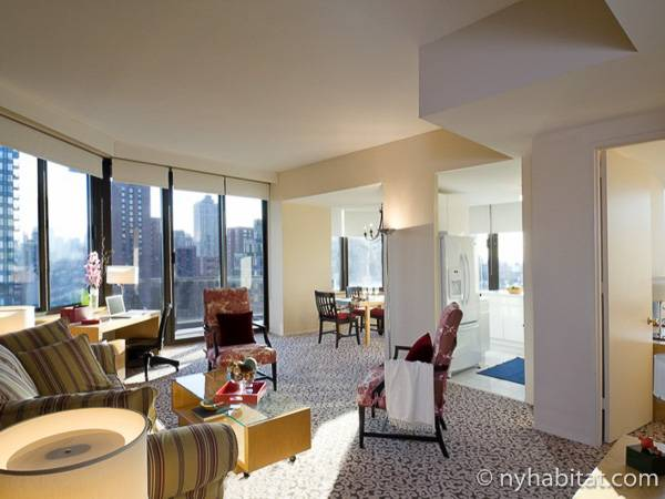 New York 2 Bedroom accommodation - living room (NY-14745) photo 3 of 12