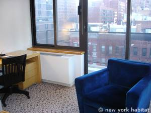 New York T2 appartement location vacances - séjour (NY-14748) photo 3 sur 10