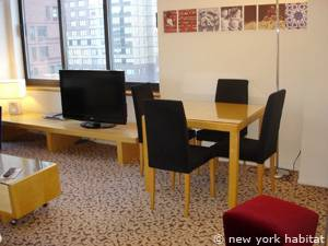 New York T2 appartement location vacances - séjour (NY-14748) photo 6 sur 10