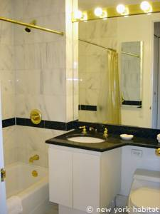 New York T2 appartement location vacances - salle de bain (NY-14748) photo 1 sur 2