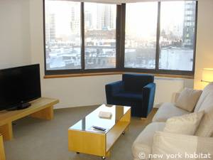 New York 1 Bedroom accommodation - living room (NY-14749) photo 1 of 7