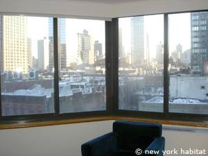New York 1 Bedroom accommodation - living room (NY-14749) photo 4 of 7