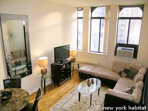 New York T2 - Loft - Duplex logement location appartement - séjour (NY-14764) photo 1 sur 9