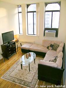 New York T2 - Loft - Duplex logement location appartement - séjour (NY-14764) photo 2 sur 9