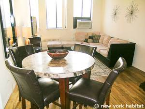 New York T2 - Loft - Duplex logement location appartement - séjour (NY-14764) photo 6 sur 9