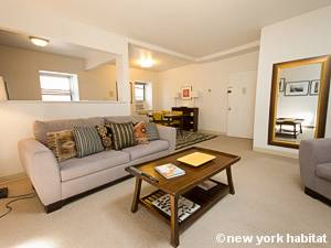 New York 1 Bedroom accommodation - living room (NY-14781) photo 2 of 8
