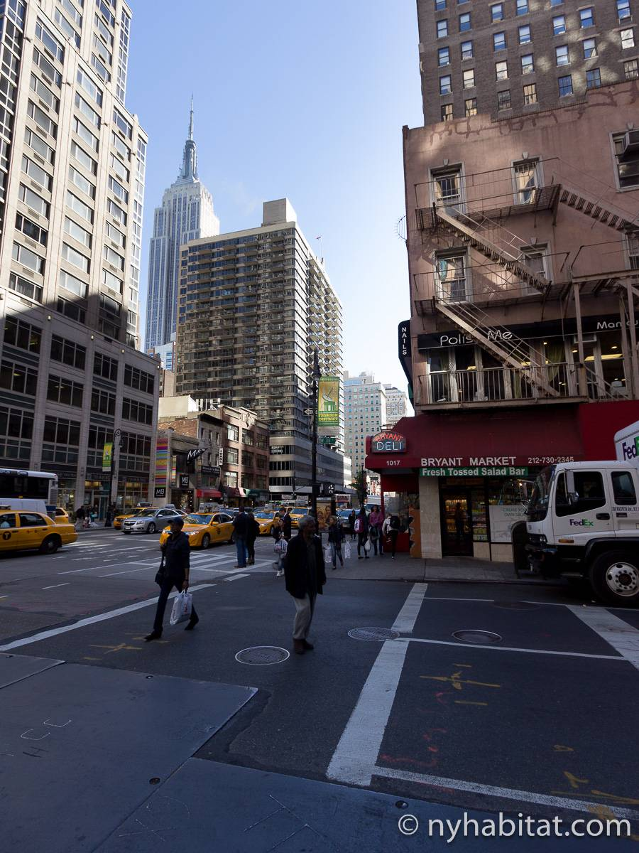 Casa vacanza a new york monolocale midtown west ny 14826 for Monolocale a new york