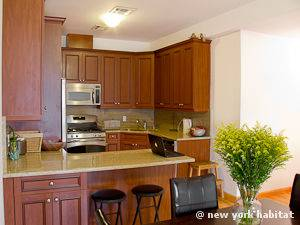 New York 2 Bedroom apartment - kitchen (NY-15000) photo 3 of 4