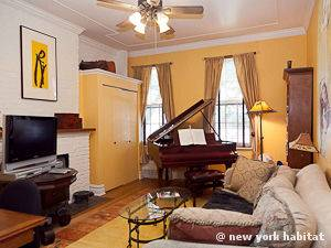 New York 1 Bedroom - Duplex apartment - living room 2 (NY-15001) photo 1 of 5