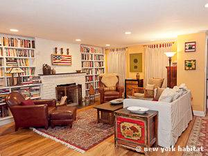 New York 1 Bedroom - Duplex apartment - living room 1 (NY-15001) photo 1 of 5