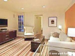 New York T2 logement location appartement - séjour (NY-15007) photo 4 sur 5