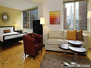New York Studio Apartment   Living Room (NY 15099) Photo 1 Of 2 ...