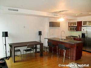 New York 2 Bedroom - Duplex accommodation bed breakfast - living room (NY-15299) photo 3 of 4