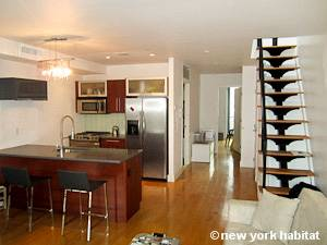 New York 2 Bedroom - Duplex accommodation bed breakfast - kitchen (NY-15299) photo 3 of 3
